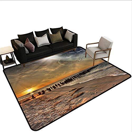 (Space,Front Mat Home Decorative Carpet 80