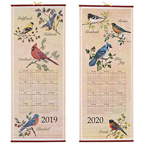 Songbirds Scroll Calendar