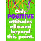 "Trend Enterprises ""Only Positive Attitudes"" Poster"