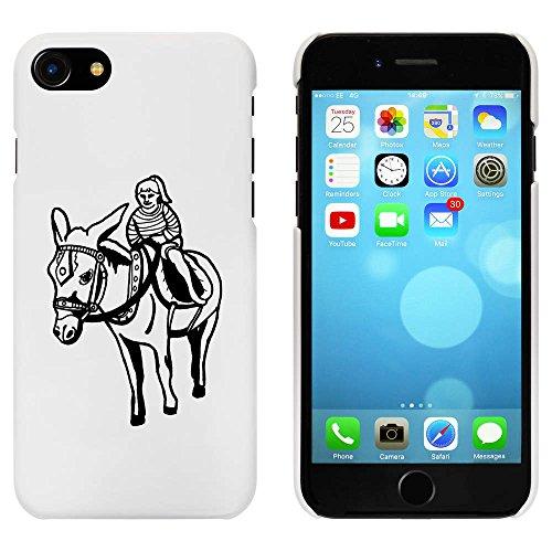 Blanc 'Randonnée d'Âne' étui / housse pour iPhone 7 (MC00058906)