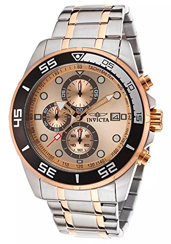 Invicta Men's 17015 Specialty Analog Display Japanese Quartz Two Tone Watch