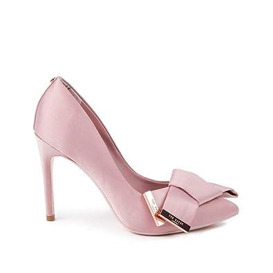 8e4d68fc5e1 Ted Baker Women s INES Satin High Heel Court Shoe Pink-Pink-3 ...