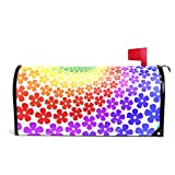 GAGH Mailbox Cover Magnetic Customized Flower Power Suitable for US Mailbox