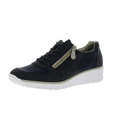 Rieker Doris 53714 14 Damenschuhe Pazifik: : Schuhe