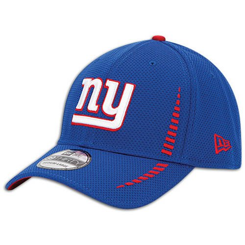 finest selection 5541f 49fb3 Amazon.com   NFL New York Giants Training Camp 39Thirty Team, Royal Blue,  M L   Sports Fan Baseball Caps   Clothing
