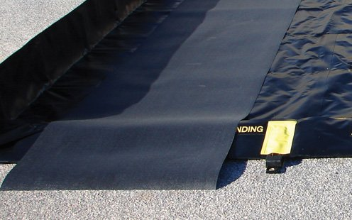 Justrite Manufacturing Company LLC 28342-28342 Ground Protection - Black, 120 in x 36 in