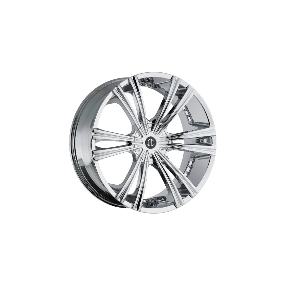 2Crave N12 26 Chrome Wheel / Rim 5x5 & 5x135 with a 18mm Offset and a 87 Hub Bore. Partnumber N12 2610S18PC