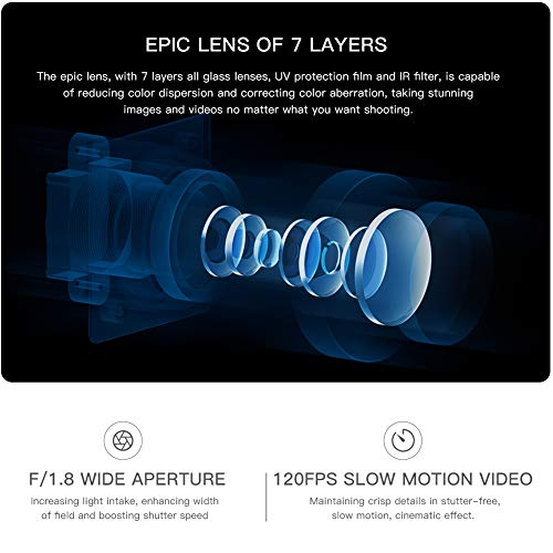 APEMAN Action 4K Ultra 20MP Waterproof 40M Camcorder with Degree Ultra-Wide Angle EIS Stabilization mAh