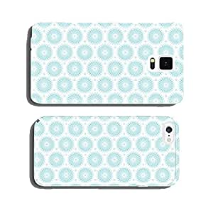 Retro Seamless Pattern Flowers Turquoise cell phone cover case iPhone5