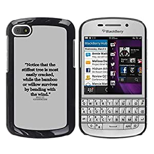 All Phone Most Case / Hard PC Metal piece Shell Slim Cover Protective Case Carcasa Funda Caso de protección para BlackBerry Q10 inspirational quote text letter truth