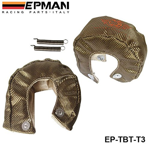 T3 Titanium Turbo Blanket heat shield barrier 1, 800 degree temp rating EP-TBT-T3 Bo Luo