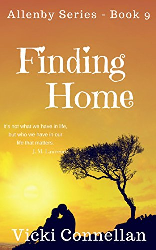 Finding Home Allenby Romance Series Book 9 By Connellan Vicki