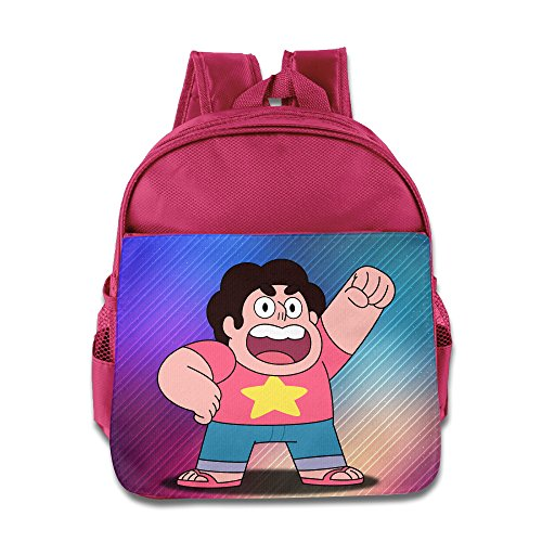 [MYKKI Steven Universe Children Personalize Backpack Pink] (Garnet Cosplay Costume)