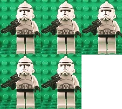 Clone Trooper X5 Lego Minifigures- Star Wars