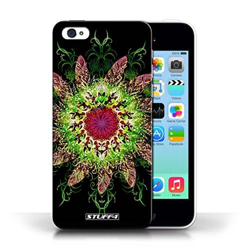 Kobalt® protector duro de nuevo caso / cubierta para el Apple iPhone 5C   Colector ideal 2 Diseño   Patrón de simetría colección
