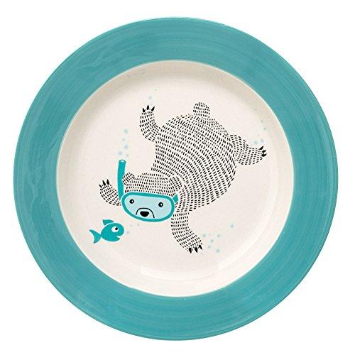 Danish Blue Plates Dash Mini Maker The Mini Waffle Maker