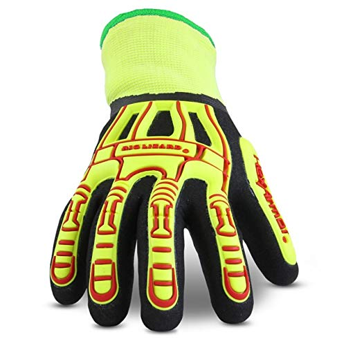 HexArmor Rig Lizard 2099 Double Coated Water Resistant Work Gloves with Impact Protection and Fleece Liner by HexArmor (Image #1)