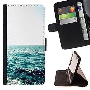 Jordan Colourful Shop - FOR HTC One M7 - the most beautiful sound - Leather Case Absorci¨®n cubierta de la caja de alto impacto