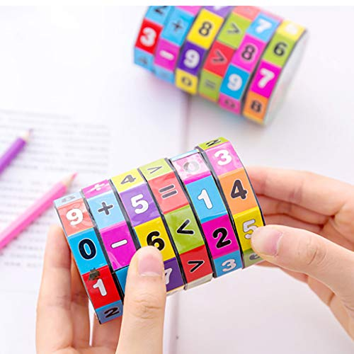 (Onefa Toys Clearance Magic Cube, New Children Kids Mathematics Numbers Magic Cube Toy Puzzle Game)