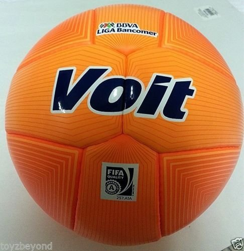 voit-soccer-ball-official-match-ball-of-bbva-liga-bancomer-orange-2014-new-100-original