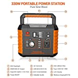 Portable Camping Generator, 330W/78000mAh Portable