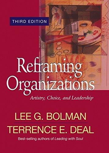 reframing organizations - 5