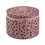 Best FakeFace Toiletry Bags - FakeFace Cute Compact Design Round Toiletry Cosmetic Bag Review