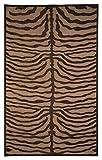 Signature Design by Ashley R400372 Tafari Accent Area Rug, 5×8, Brown For Sale