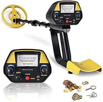 INTEY Metal Detector with Pinpointer & DISC Mode