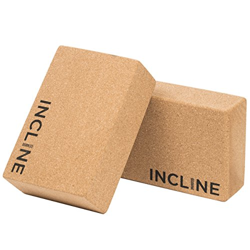 Incline Fit Cork Yoga Blocks (2 Pack), 3