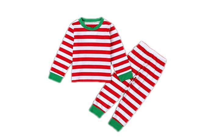 Navidad Fiesta En Familia Traje De Pijama Mamá y Papá Bebé Bebé Ropa De Pijamas
