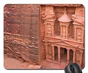 Ancient Temple in Petra, Jordon Mouse Pad, Mousepad (Ancient Mouse Pad)