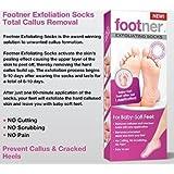 Footner Exfoliating Socks Total Callus Remover(2 PACK)