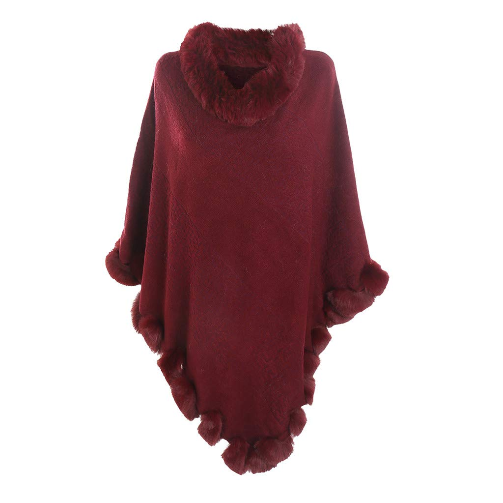 ❤️Jonerytime❤️ New Leopard Lace High-end Banquet Fashion Versatile Cotton and Llinen Scarf (Wine red) by Jonerytime_ Outdoor&Sport