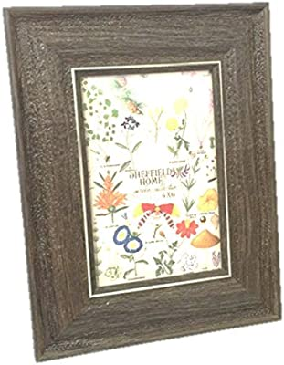 Sheffield Home Brown Wood Grain 12 by 12 Picture Frame Recycled