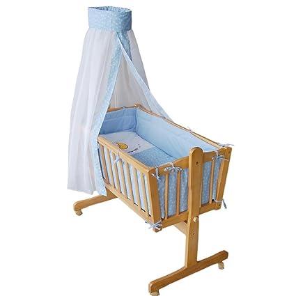 Honey Bee Completa Mecedora Cama Cuna Para Bebes Azul 51365 - Cama-cuna-para-bebs