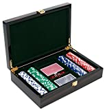 1000 13g poker chips - The Imperial Deluxe Ebony Clay Poker Chip Set 11.5 Grams