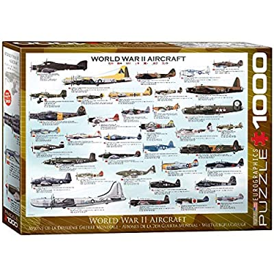 World War II Jigsaw Puzzle - 1,000 pieces: Toys & Games