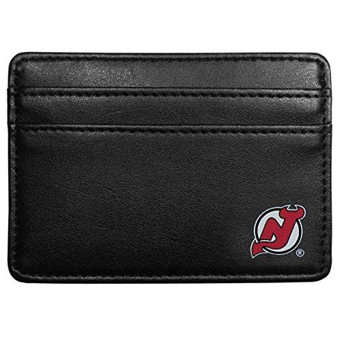 Siskiyou NHL New Jersey Devils Leather Weekend Wallet, (New Jersey Devils Leather)