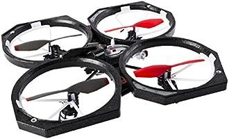 Air Hogs Helix Sentinel - Drones con cámara (Negro, Rojo, Color ...