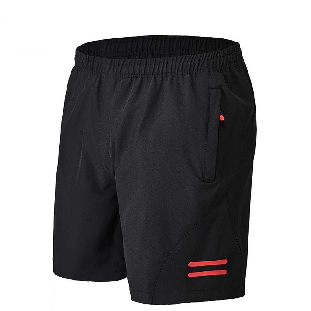 YERTYY Pantalones para Hombre de Ciclismo Pantalones Cortos de Ciclista de Secado r/ápido de Alta Elasticidad Duradera c/ómodo Ligera