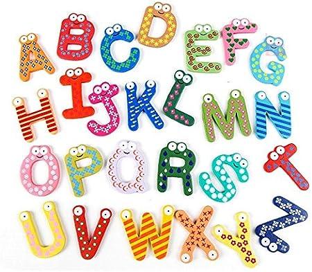 Letras y Cifras De Decoración de Madera Para Paredes, Letras y Números - Diversión, Aprendizaje, Decoración by RIVENBERT: Amazon.es: Bebé