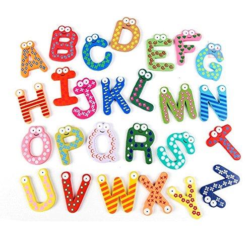 Lettere e Cifre di Legno per Decorazione Pareti, Lettere e Numeri - Divertimento, Apprendimento, Decorazione by RIVENBERT