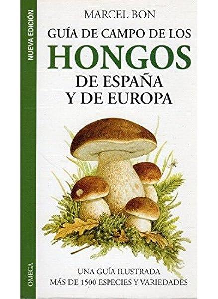 GUIA CAMPO HONGOS DE ESPAÑA Y EUROPA GUIAS DEL NATURALISTA-HONGOS Y PLANTAS CRIPTÓGAMAS: Amazon.es: BON, MARCEL: Libros