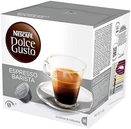 Nescafe - Dolce Gusto cápsulas de café Barista 16 (Pack de 4 ...