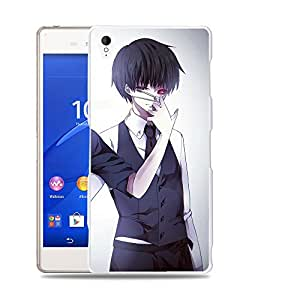 Case88 Designs Tokyo Ghoul Yoshimura Kaneki Ken Protective Snap-on Hard Back Case Cover for Sony Xperia Z3