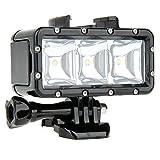 Goliton® Underwater 30m Waterproof High Power Dimmable LED Video POV Flash Fill Light Night Light for GoPro Hero 4 3+ 3 2 1