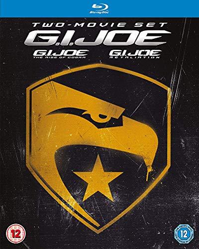 GI Joe 1 & 2 Blu-ray Box-set Re-pack [Region Free] (Gi Joe The Movie Blu Ray)