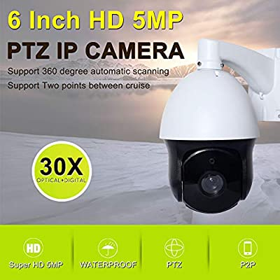 Amazon.com: TySvance Super HD 5MP Outdoor PTZ Camera H.265 ...