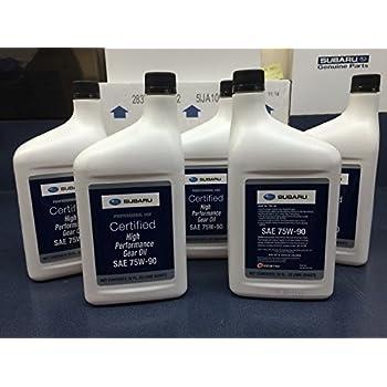 Amazon com: Subaru 75W90 High Performance Gear/Transmission